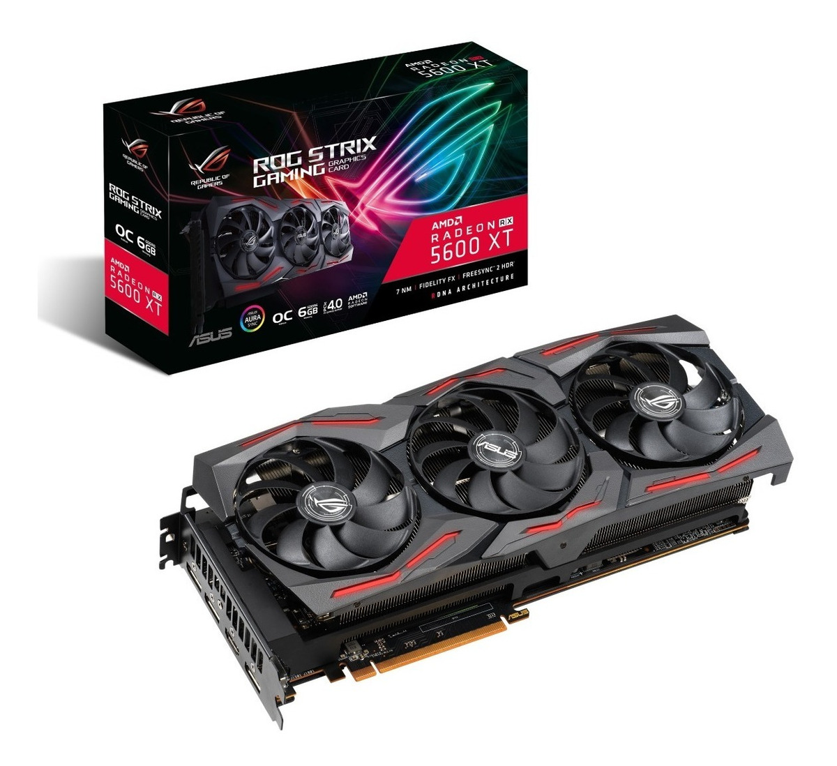 VIDEO 6G PCI-E RX 5600 XT ASUS TUF EVO GAMING GAMER