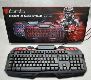 TECLADO USB BRB SOLDIER GAMING G15 BACKLIGHT Y KEYLIGHT